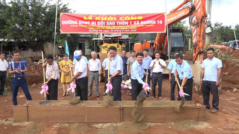 Học và làm theo Bác gắn với xây dựng nông thôn mới ở huyện Bù Đăng