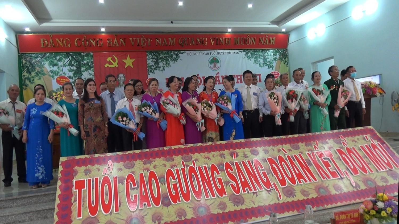 Đại hội điểm Hội Người cao tuổi huyện Bù Đăng lần thứ III, nhiệm kỳ 2021 - 2026